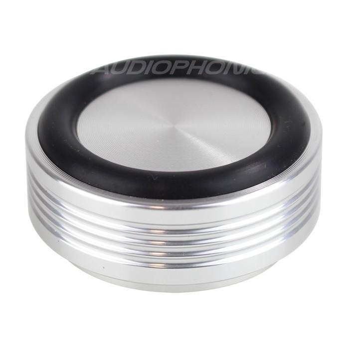 Pied amortissant en Aluminium Silver 44x17mm M4 (Unité)