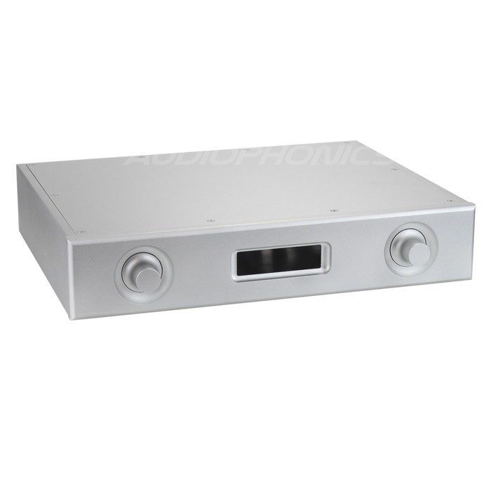 DIY Box / Case preamplifier 100% Aluminium 321x252x62mm