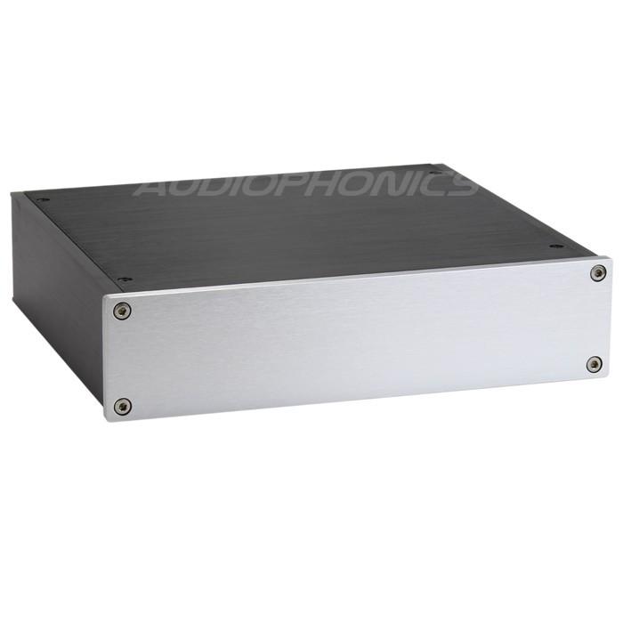 Boitier DIY DAC/Préamplificateur 100% Aluminium 220x191x52mm
