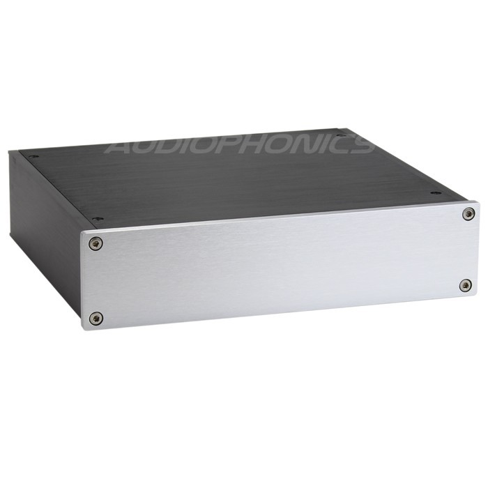 DIY Box / DAC/Preamplifier Case 100% Aluminium 220x191x52mm
