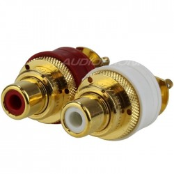 WBT-0201 RCA inlet Topline Gold Plated (Pair)