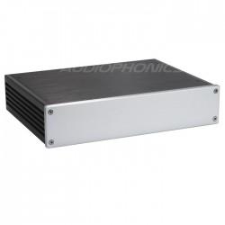 Boitier DIY Amplificateur/DAC 100% Aluminium 280x211x62mm