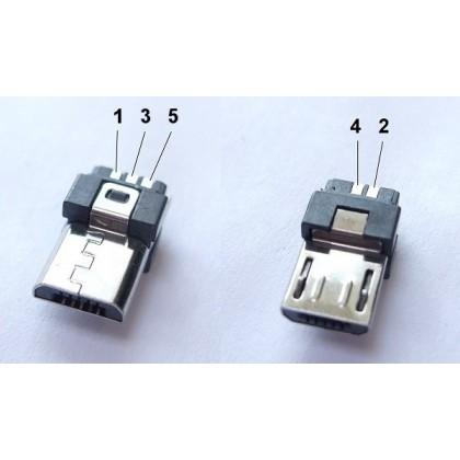 Connecteur Micro Usb M 226 Le Avec Corps Audiophonics