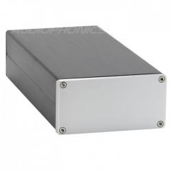 Boitier DIY pour DAC/Préamplificateur 100% Aluminium 208x102x50mm