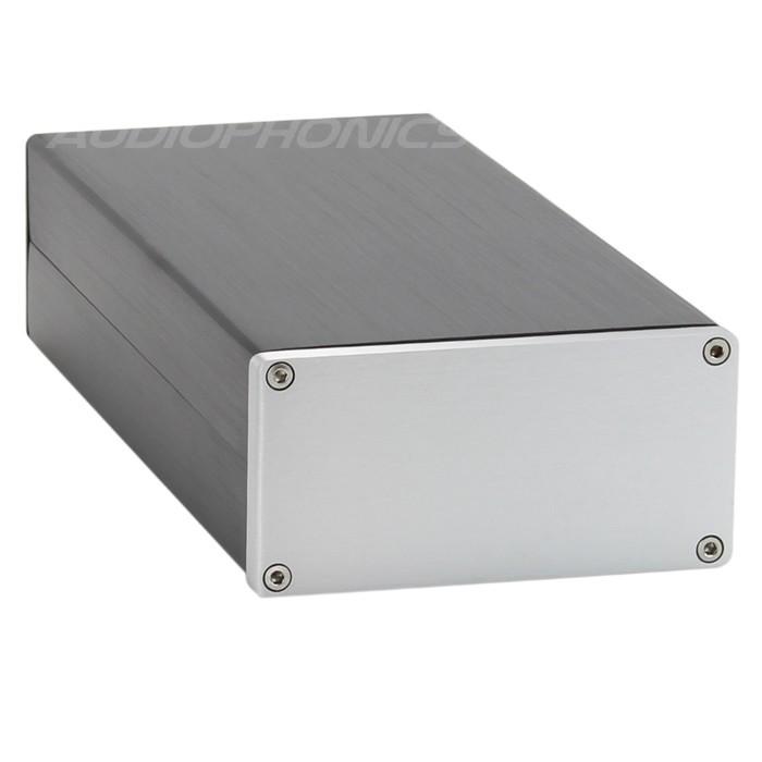 Boitier DIY pour DAC / Préamplificateur 100% Aluminium 208x102x50mm