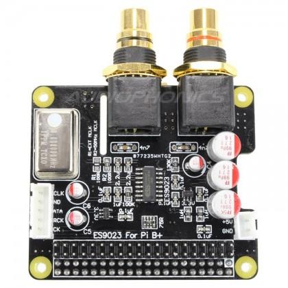 Audiophonics I-Sabre DAC ES9023 2 TCXO Raspberry Pi A+ B+ 2.0 / I2S