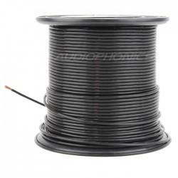 ELECAUDIO FC125TC Fil de Câblage Cuivre OCC FEP 2.5mm² (Noir)