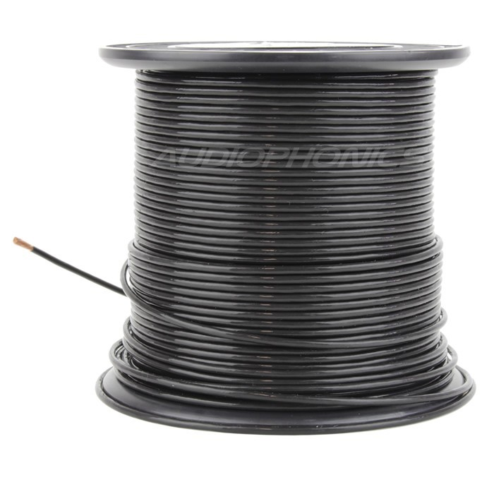 ELECAUDIO FC125TC Multistrand wiring cable Copper OCC FEP 2.5mm² Black
