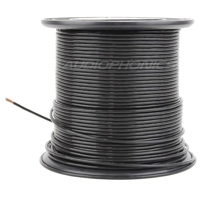 ELECAUDIO FC125TC Wire Wire Copper OCC FEP 2.5mm² (Black)