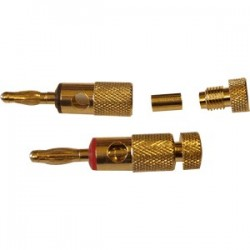 DAYTON AUDIO BACT Banana Plug Gold Plated Ø 5mm (La paire)