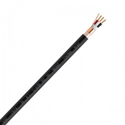 OYAIDE EE / F-S2.0 V2 Câble secteur Cuivre 102 SSC FEP blindé 3x3.3mm² Ø 12.5mm