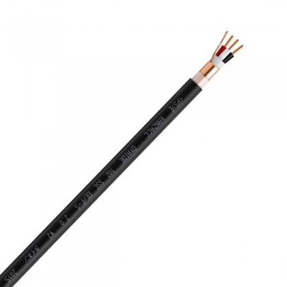 OYAIDE EE / F-S2.0 V2 Power cable 102 SSC copper FEP shielded Ø 12.5mm