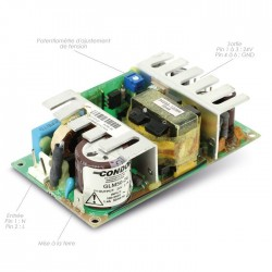 CONDOR GLM50-24 Module d'alimentation 50W 24V 2.1A