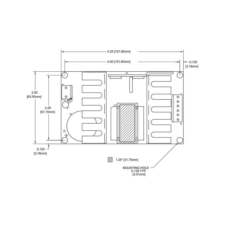 Condor Wiring Diagram Library Glm50 24 Power Supply Module 50w 24v 21a