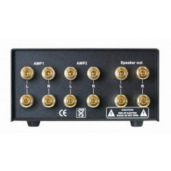 DYNAVOX AMP-S Silver Commutateur sélecteur audio pour enceintes et ampli
