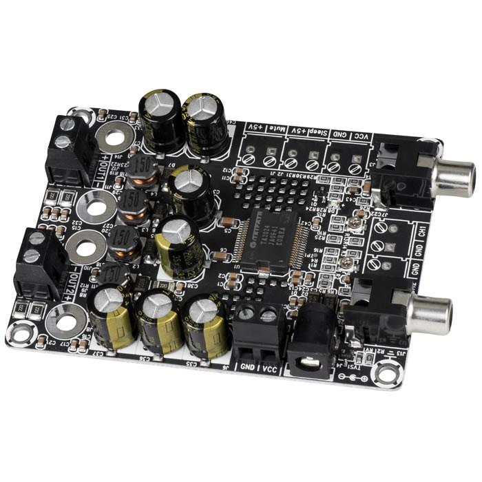 WONDOM AA-AB32155 Audio Amplifier Board TA2024 2 x 15 Watts 4 Ohms Class D