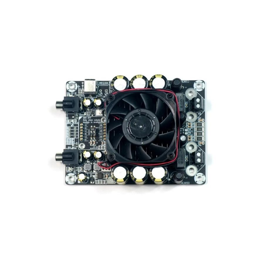 Wondom Aa Ab32971 Amplifier Board T Amp Class D 2 X 100 Watt 4 Ohms Sure Ohm
