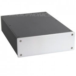 Boîtier DIY DAC / Phono 100% Aluminium 308x215x70mm