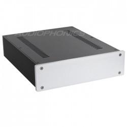 Boîtier DIY 100% Aluminium ventilé 311x260x70mm