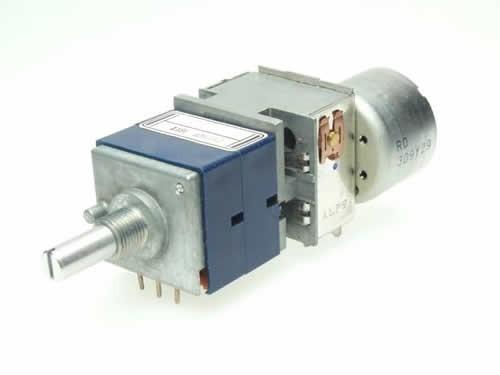 Potentiometer ALPS RK27112MC 2-way motorized 10k