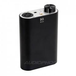 KINGSOUND M-03 Portable Electrostatic Headphone Amplifier Black