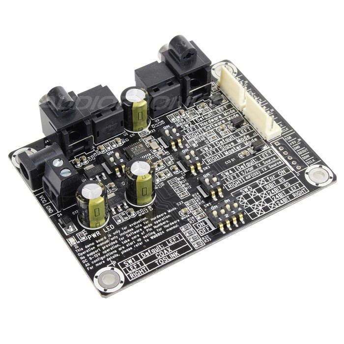 WONDOM AA-AB41133 Digital Interface S/PDIF Coaxial / Toslink to I2S WM8804 Board