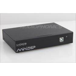 MiniDSP U-DAC8 Interface / DAC AKM4440 USB Asynchrone 8 canaux 24bit 192kHz XMOS