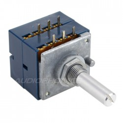 Potentiometer ALPS stereo RK27 round shaft high quality 50 Kohm