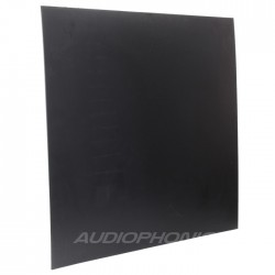 Plaque PE noire pour boitier DIY 495x495x3mm