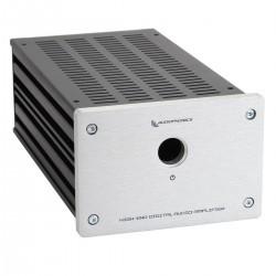 Audiophonics Boîtier GX183 Fond perforé DIY Silver