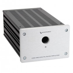 Audiophonics GX183 Custom chassis DIY Silver
