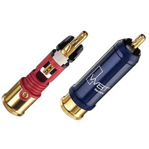 WBT-0110Cu RCA Plug Nextgen Copper 75 Ohm Ø9mm (La paire)