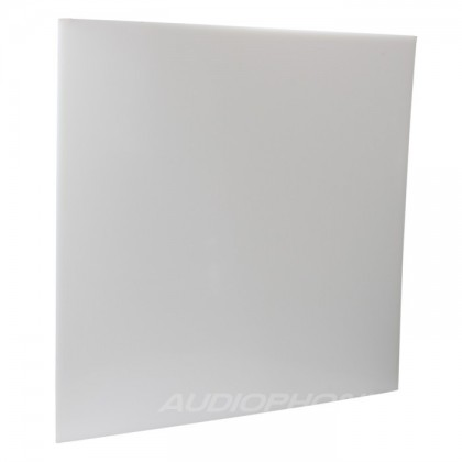 White PE plate for DIY box / case 495x495x3mm
