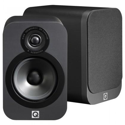 Q acoustics 2020i Bookshelf Speakers Graphite Black (pair)