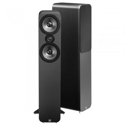 Q acoustics 3050 Enceintes colonne Graphite Black (La paire)