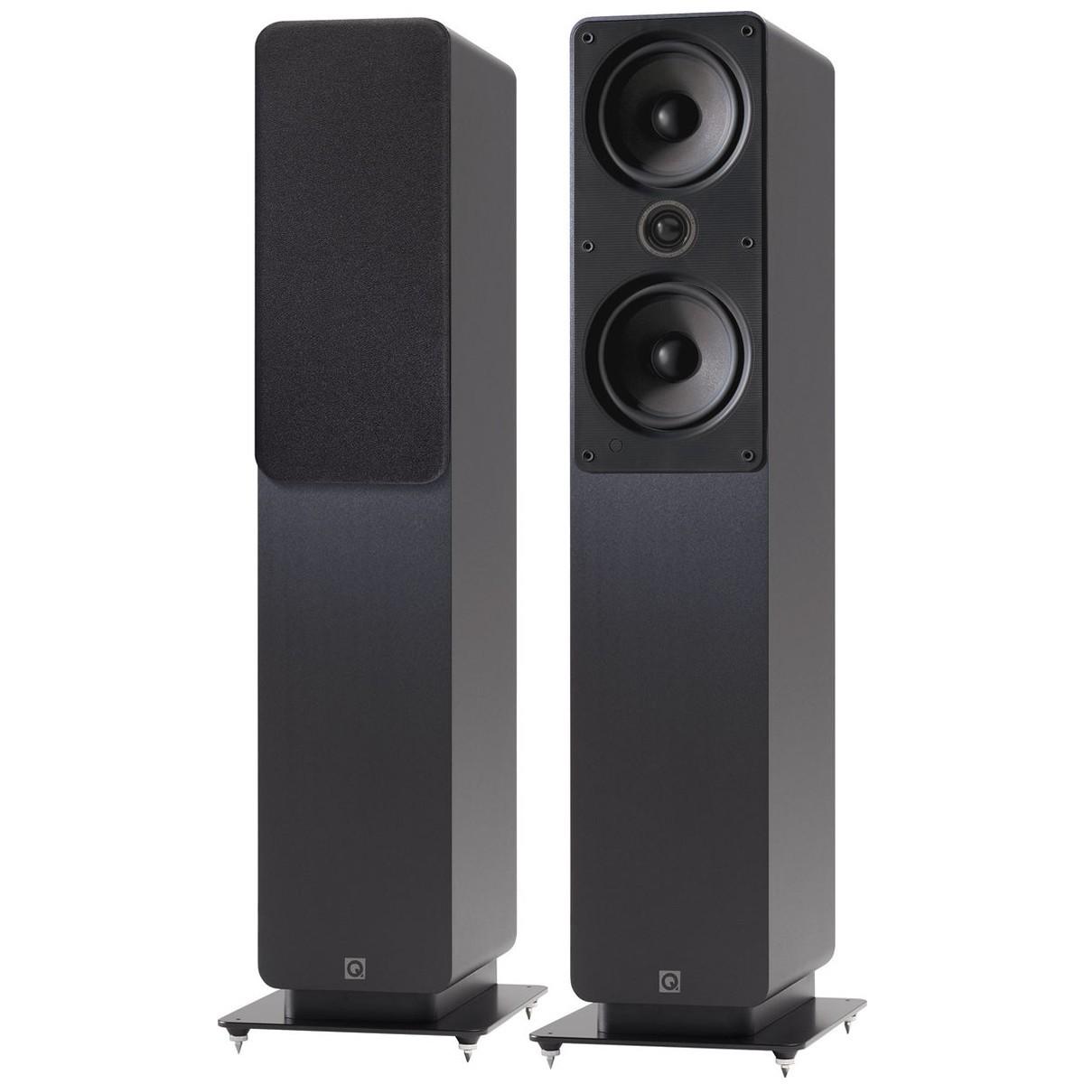 Q acoustics 2050i Enceintes colonne Graphite Black (La paire)
