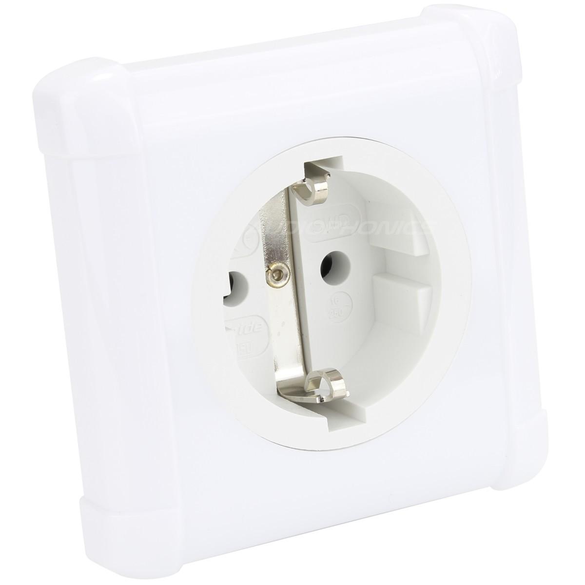 OYAIDE SWD-XXX-e SCHUKO Wall Plug Gold Plated / Palladium