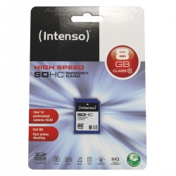 Intenso High Speed SD HC Memory Card 8GB