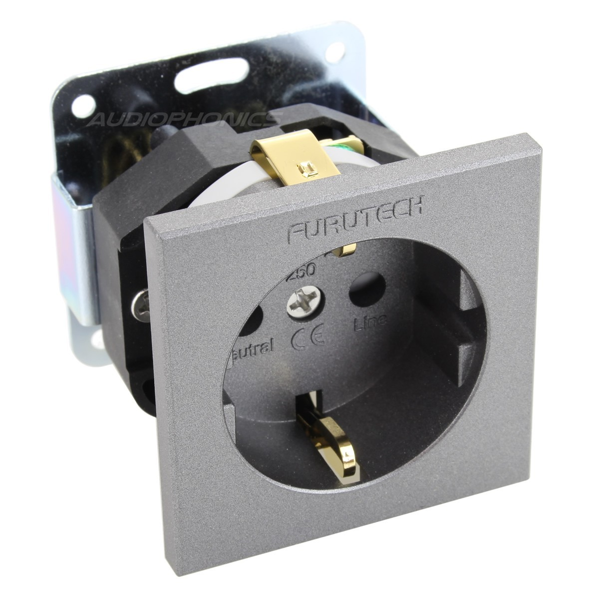 FURUTECH FT-SDS (G) Schuko Socket for Power Distributor Gold Plated