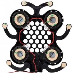 DAYTON AUDIO DAEX25X4-4 Haut-parleur Exciter large bande 4x Ø 25mm 40W 8 Ohm