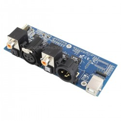 MiniDSP DIGI-FP Module d'entrée-Sortie S/PDIF / Toslink / AES-EBU-I2S