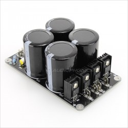 Power Supply board for Amplifier 4x10000µF 50V