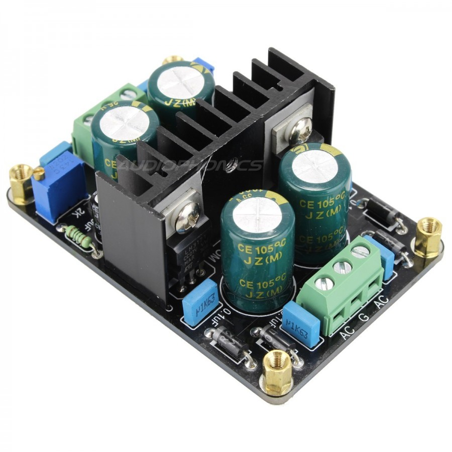 regulated linear power supply ac dc lm317 lm337 24v 1a audiophonicsregulated linear power supply ac dc lm317 lm337 24v 1a