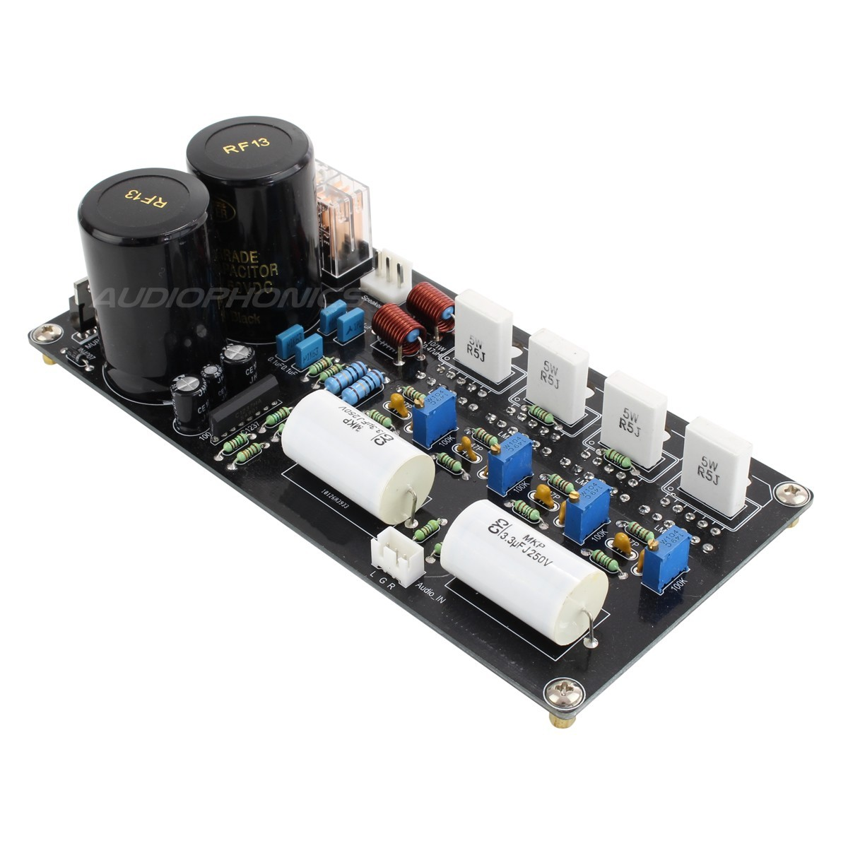 MA-LM03 Stereo Amplifier board LM3886T Class AB 2x 125W