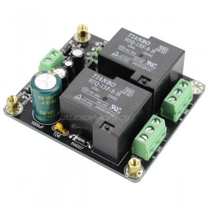 Protection module for stereo speakers 12V 30A