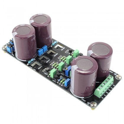 Dual Power Supply board for Amplifier 4x4700µF 100V