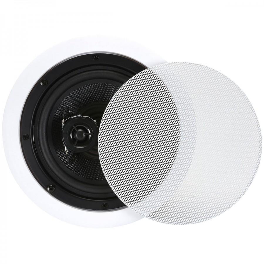 Dayton audio cs622c haut parleur de plafond st r o 25w 8 - Haut parleur encastrable faux plafond ...