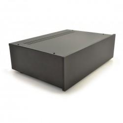 HIFI 2000 Boitier 3U 300mm - Facade 10mm Noir