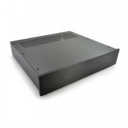 HIFI 2000 Case 2U 400mm - Front 10mm Black