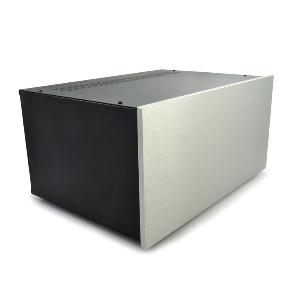 HIFI 2000 Case 5U 400mm - Front 10mm Silver